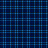 Griglia blu al neon Fotografia Stock Libera da Diritti