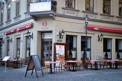 Griglia Bucarest della città Fotografie Stock Libere da Diritti