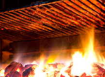 Griglia del barbecue Immagine Stock Libera da Diritti
