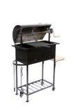 Griglia del barbecue aperta il nero. Fotografie Stock