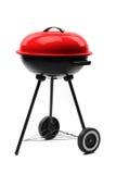 Griglia del barbecue della caldaia con il coperchio immagini stock libere da diritti