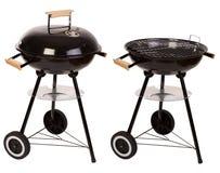 Griglia del barbecue isolata su bianco Fotografie Stock Libere da Diritti