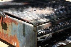 Griglia del BBQ Fotografie Stock Libere da Diritti