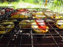 Griglia del BBQ Fotografia Stock