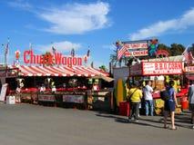 Griglia del BBQ di Chuck Wagon, la contea di Los Angeles giusta, Fairplex, Pomona, California Immagine Stock Libera da Diritti