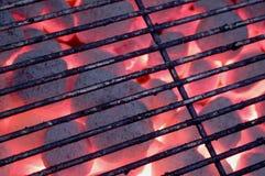 Griglia del carbone di legna Fotografia Stock Libera da Diritti