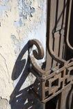 Griglia del ferro Fotografia Stock