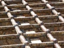 Griglia del ferro Fotografia Stock Libera da Diritti