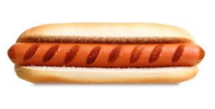 Griglia del hot dog Fotografia Stock