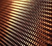 Griglia del metallo fotografie stock