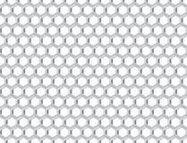 Griglia del metallo con le cellule royalty illustrazione gratis