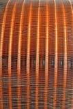 Griglia del metallo di Cuprum, industria moderna, Immagini Stock Libere da Diritti