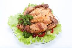 Griglia del pollo Immagine Stock