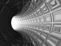 Griglia del tunnel di web Fotografie Stock