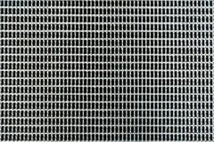 Griglia dell'acciaio inossidabile Fotografie Stock