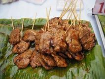 Griglia della carne di maiale Immagine Stock