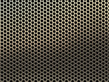Griglia della maglia del metallo Fotografie Stock Libere da Diritti
