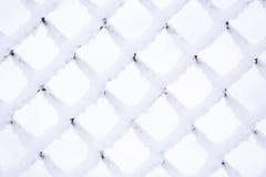 Griglia della neve del metallo Fotografia Stock Libera da Diritti