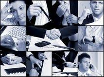 Griglia di affari - mani Fotografie Stock