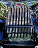 Griglia di Bugatti Fotografia Stock Libera da Diritti