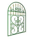 Griglia di finestra del ferro battuto illustrazione di stock
