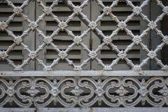 Griglia di finestra a Tolosa Fotografia Stock Libera da Diritti