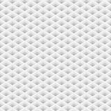 Griglia di prospettiva con il modello senza cuciture dei fori quadrati Fotografie Stock