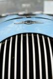 Griglia di radiatore dell'automobile classica Immagine Stock Libera da Diritti