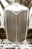 Griglia di radiatore tradizionale d'annata di Riley Immagine Stock