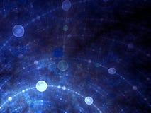 Griglia di spazio-tempo della bolla Fotografia Stock Libera da Diritti