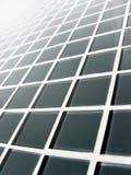 Griglia di vetro grigia Immagine Stock Libera da Diritti