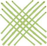 Griglia di vettore dei coni retinici di bambù Fotografie Stock Libere da Diritti