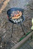 Griglia e barbecue Fotografia Stock Libera da Diritti