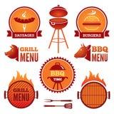 Griglia e BBQ Immagine Stock