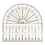 Griglia forgiata decorativa Fotografie Stock Libere da Diritti