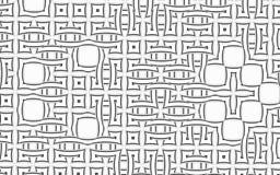 Griglia geometrica Fotografia Stock Libera da Diritti
