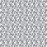 Griglia infinita del metallo Fotografia Stock