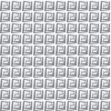 Griglia infinita del metallo Immagine Stock Libera da Diritti
