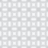 Griglia infinita del metallo Fotografie Stock