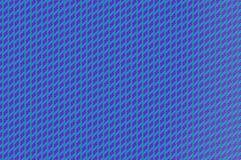 Griglia intrecciata - cavi di ametista e di ceruleo Fotografie Stock Libere da Diritti