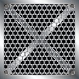 Griglia metallica Immagine Stock Libera da Diritti