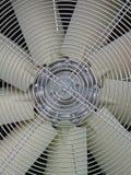Griglia metallica sul ventilatore, industria, Fotografia Stock