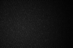 Griglia nera dell'altoparlante Fotografia Stock