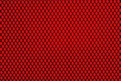 Griglia nera su fondo rosso Immagini Stock Libere da Diritti