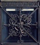 Griglia ornamentale d'annata Fotografia Stock Libera da Diritti