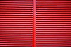 Griglia rossa Fotografia Stock Libera da Diritti