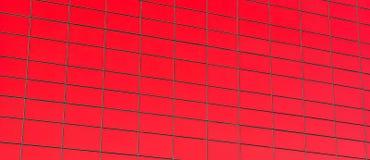 Griglia rossa Fotografie Stock