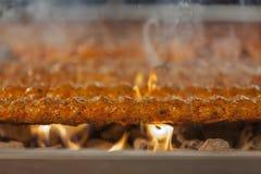 Griglia turca di kebab Immagine Stock Libera da Diritti