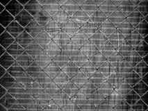 Griglia urbana del metallo Fotografia Stock