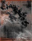 Griglie Grungy industriali Fotografie Stock Libere da Diritti